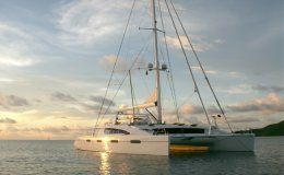 Akasha crewed catamaran 5 double cabins caribbean virgin islands