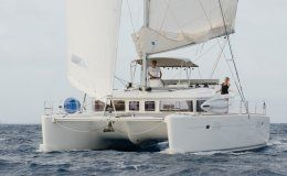 Gypsy princess crewed catamaran 3 double cabins up to 6 guests bvi