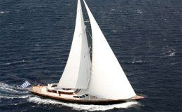 Gitana perini navi 36m 3 cabins greece turkey croatia
