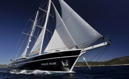 Dolce mare 118 motorsailer 6 cabins turkey greece