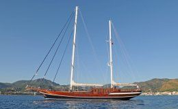 Queen of datca luxury 115 gulet up to 10 guests croatia