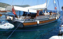 Gulet cosh 2 double cabins up to 5 guets turkey