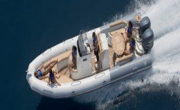 Zodiac 850 day charters up to 12 guests ibiza