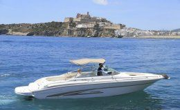 Charter boat sea ray 280 day charters up to 10 people ibiza