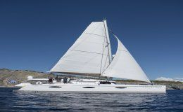 Charter catamaran high jinks sanya 57 4 cabins greece