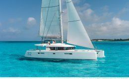 Charter catamaran kepi lagoon 52 5 cabins greece