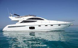 Charter yacht fairline phantom 48 3 cabins ibiza