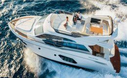 Charter yacht absolute 52 fly 3 cabins mallorca