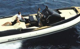 Charter boat scanner 950 day charter ibiza