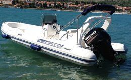 Maestral 555 rib day charter boat in croatia