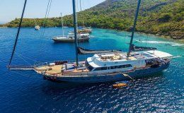 Charter yacht virtuoso greece and turkey