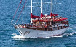 Barbara charter gulet in croatia