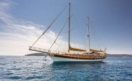 Angelica 98 feet charter gulet in croatia