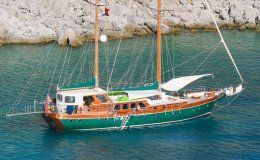 Lady freya charter gulet in turkey