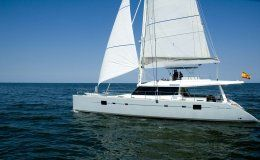 Zimit catamaran for charter in ibiza