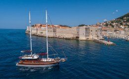 Adriatic holiday charter gulet in croatia