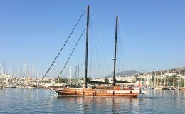 Kaya guneri plus charter gulet in turkey