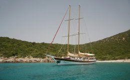 Kaya guneri 2 charter gulet in turkey