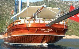 Kaya guneri 3 charter gulet in turkey