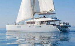Sea bliss catamaran for charter in croatia