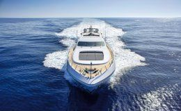 Four friends mangusta 108 yachts for charter in ibiza