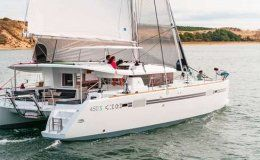 Lufinha catamarans for charter in the bvi