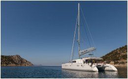 Catamaran twin pride greece