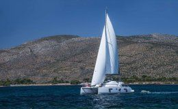 Catamaran odyssey greece