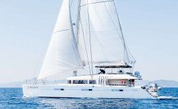 Catamaran selene greece