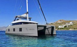 Catamaran amaya greece