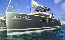 Catamaran alyssa greece