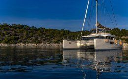 Catamaran flo greece