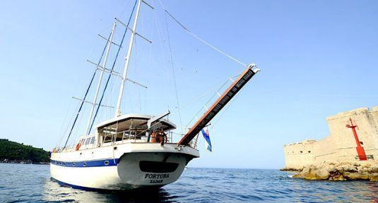 Fortuna gulet for charter in croatia