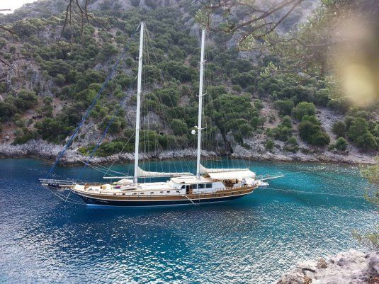 Kaya guneri 4 charter gulet in turkey
