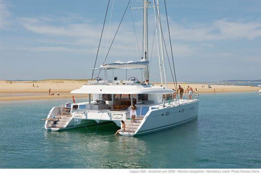Lady rachel catamaran for charter in italy