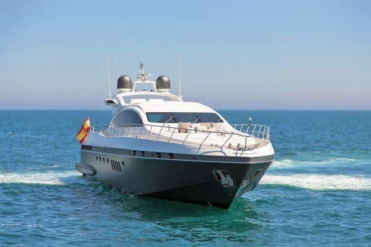 Five stars yachts for charter in ibiza