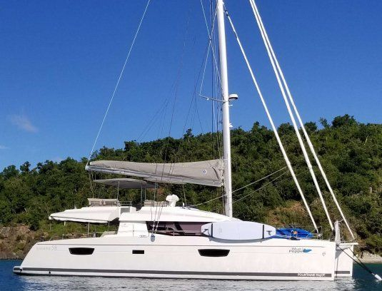 Blue pepper catamarans for charter in the bvi