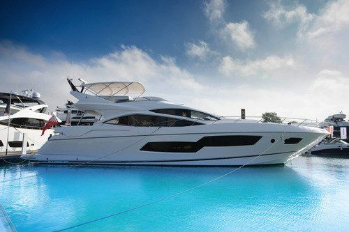 Introducing m y seawater a brand new sunseeker 80 sport for charter in balearics